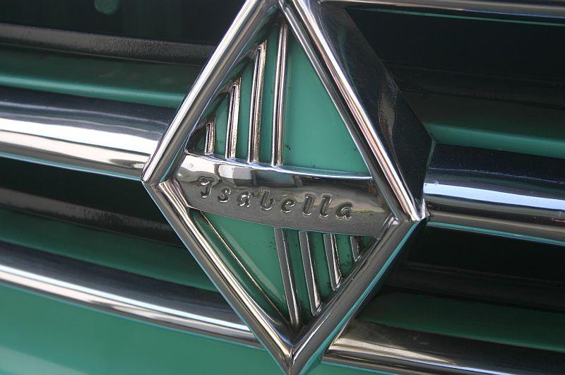 Borgward Isabella 1961 - auf dem Parkplatz schnappgeschossen 313