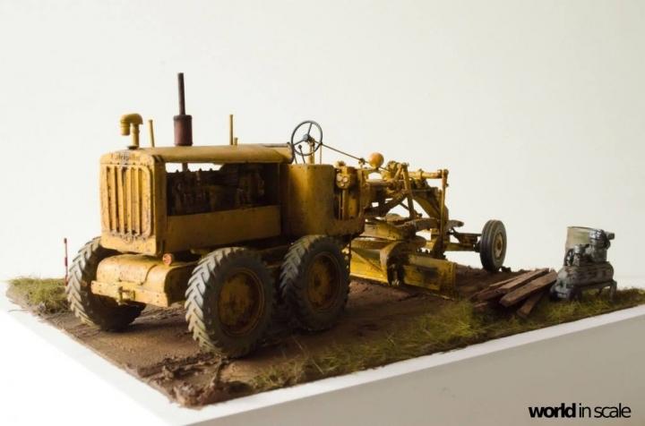 "Caterpillar 12 ""Motor Grader"" - 1/35 by Plus Model 52g9fo11"