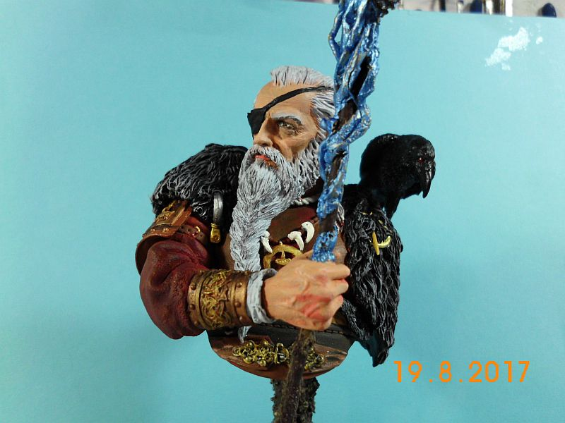 Nutsplanet NP-B023 - Odin, the ruler of Asgard - Resinbüste 1/10 - Galeriebilder 5o11