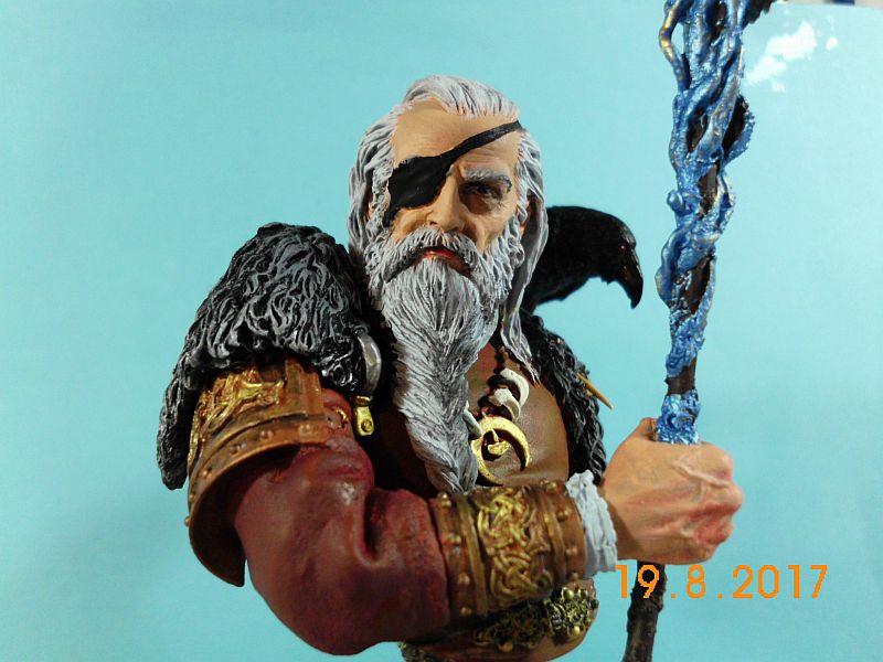 Nutsplanet NP-B023 - Odin, the ruler of Asgard - Resinbüste 1/10 - Galeriebilder 5o110