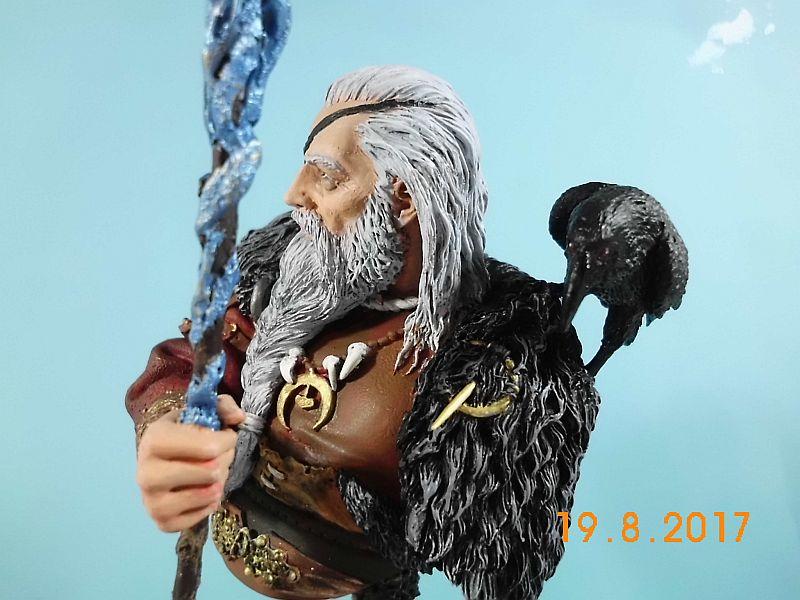Nutsplanet NP-B023 - Odin, the ruler of Asgard - Resinbüste 1/10 - Galeriebilder 5o210