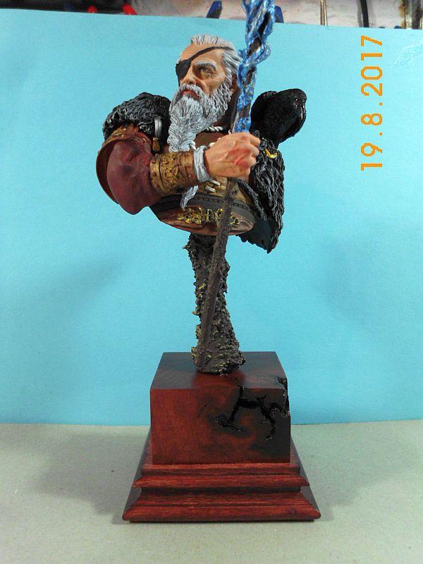 Nutsplanet NP-B023 - Odin, the ruler of Asgard - Resinbüste 1/10 - Galeriebilder 5o410
