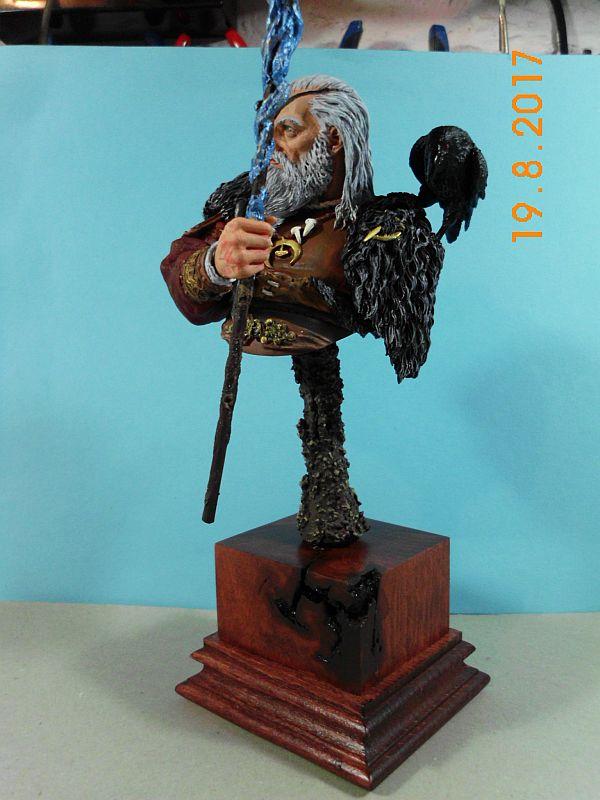 Nutsplanet NP-B023 - Odin, the ruler of Asgard - Resinbüste 1/10 - Galeriebilder 5o510