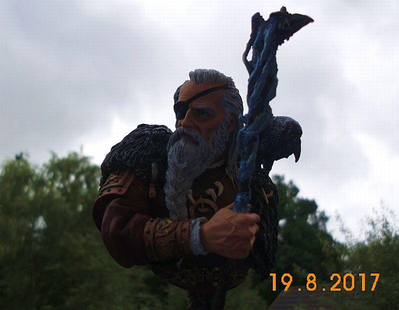 Nutsplanet NP-B023 - Odin, the ruler of Asgard - Resinbüste 1/10 - Galeriebilder 5o6a10