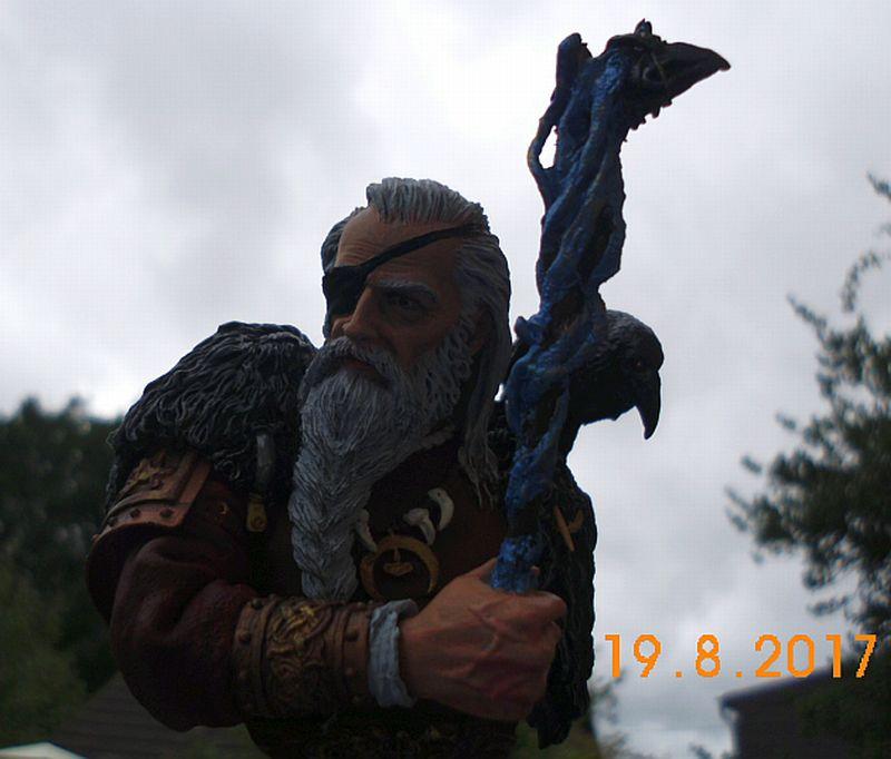 Nutsplanet NP-B023 - Odin, the ruler of Asgard - Resinbüste 1/10 - Galeriebilder 5o6b10