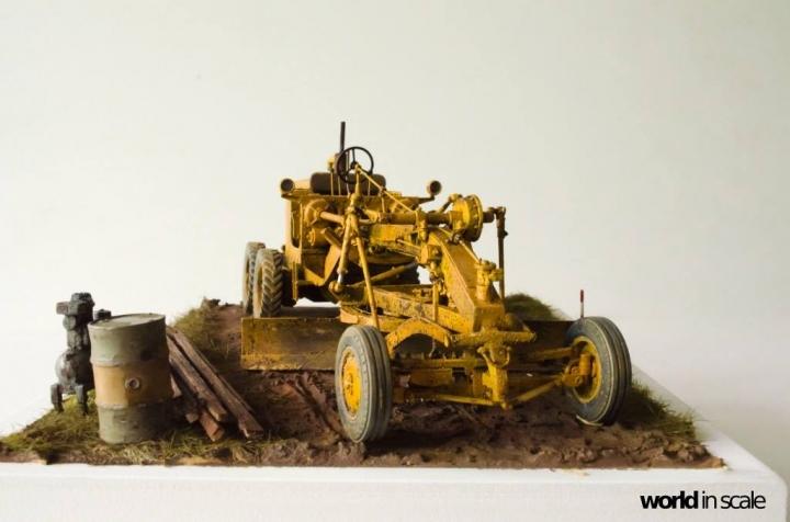 "Caterpillar 12 ""Motor Grader"" - 1/35 by Plus Model Afgpzl11"