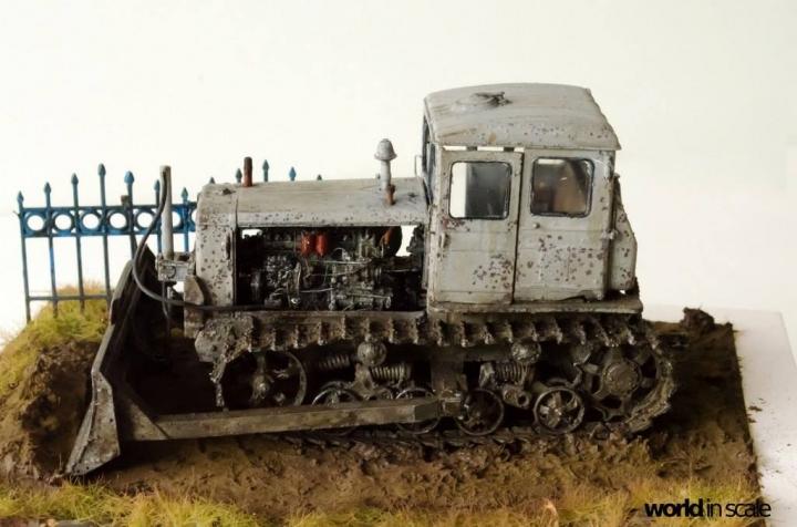 "DT-74 ""Soviet Dozer"" - 1/35 by Baluard Modell Dqktmm10"
