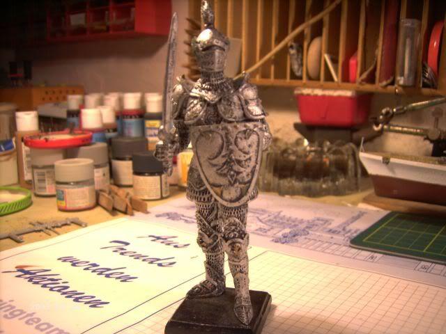 Ritterfiguren zu Fuß - Dekofiguren P1-314