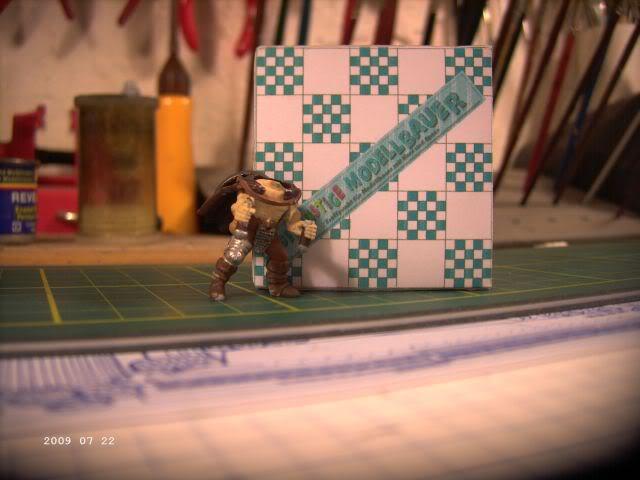 Berserker - Rollenspielfigur von Zvezda - FERTIG P111