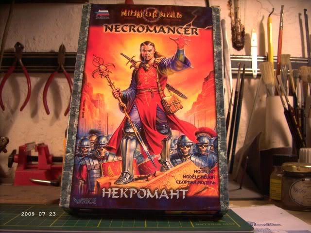 Baubericht Nekromane - Rollenspielfigur von Zvezda P113