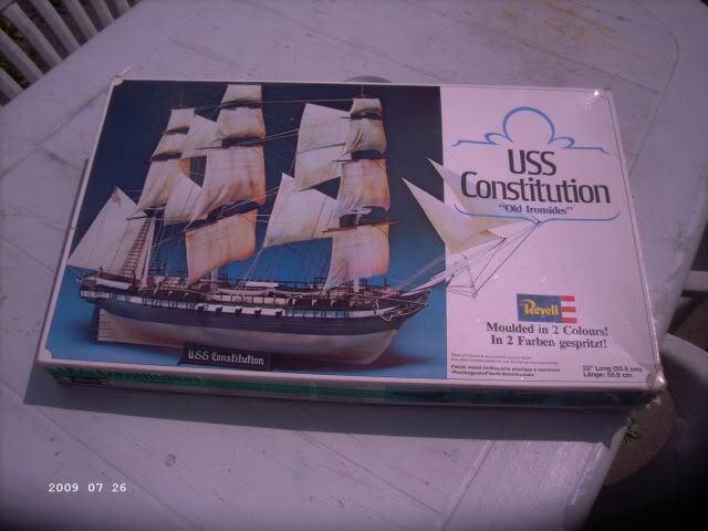 Baubericht Revell 05600 Constitution / Old Ironsides 1/111 - Beendet!!! P118
