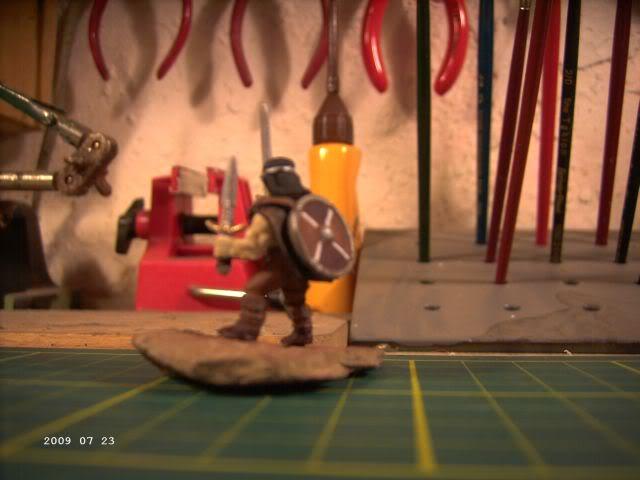 Berserker - Rollenspielfigur von Zvezda - FERTIG P2-110