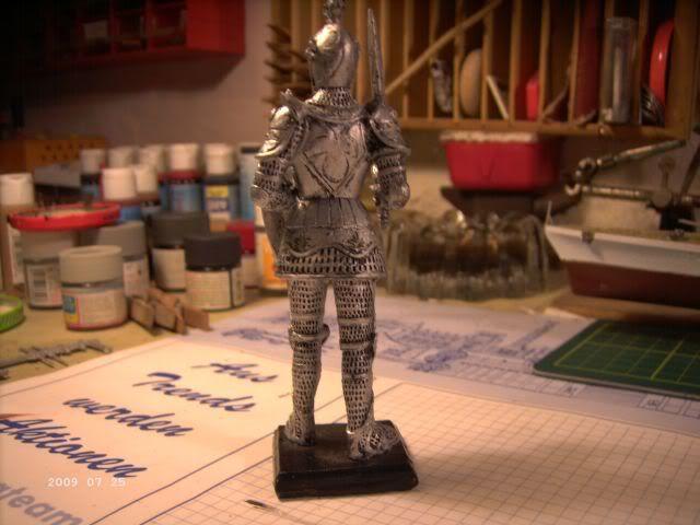 Ritterfiguren zu Fuß - Dekofiguren P2-313