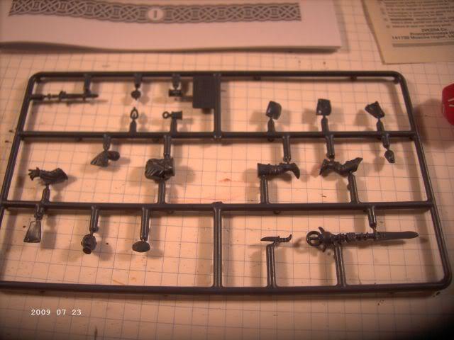 Baubericht Nekromane - Rollenspielfigur von Zvezda P213
