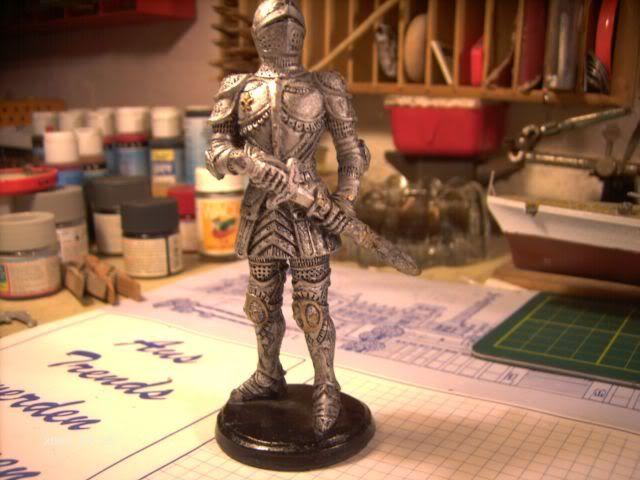 Ritterfiguren zu Fuß - Dekofiguren P3-214