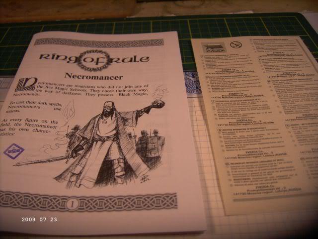 Baubericht Nekromane - Rollenspielfigur von Zvezda P311