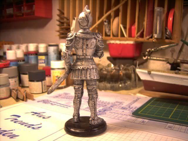 Ritterfiguren zu Fuß - Dekofiguren P4-214