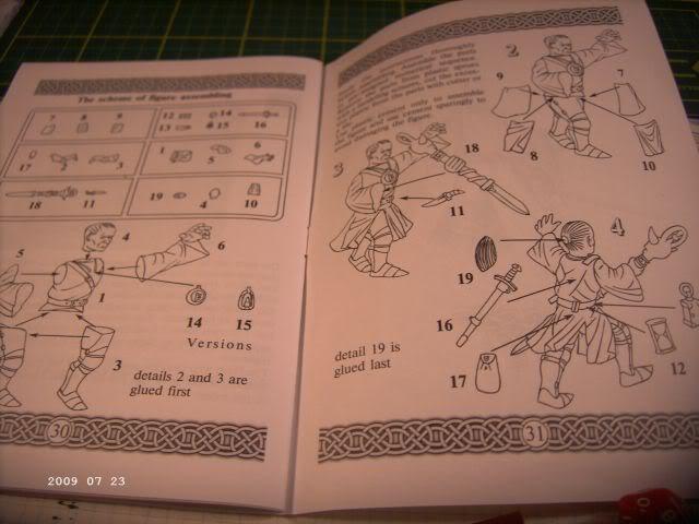 Baubericht Nekromane - Rollenspielfigur von Zvezda P411