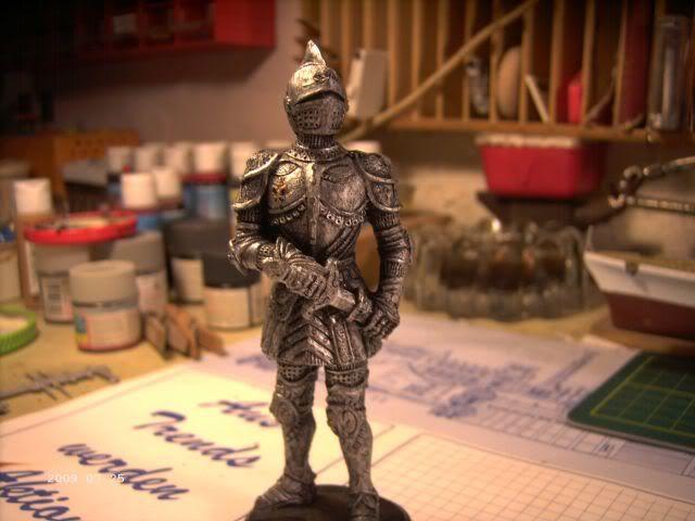 Ritterfiguren zu Fuß - Dekofiguren P5-212