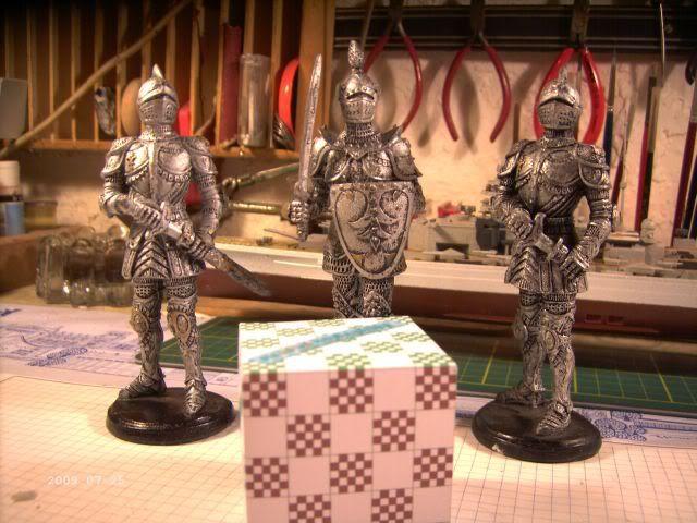Ritterfiguren zu Fuß - Dekofiguren P6-112