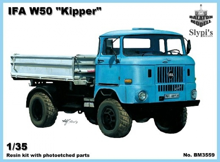 "IFA W50 ""Kipper"" - 1/35 by Balaton Modell Plahui10"