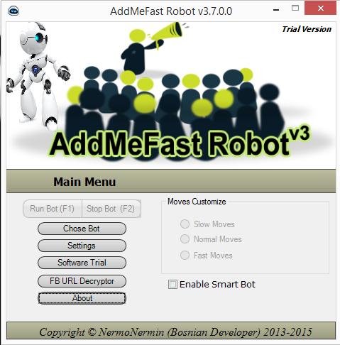 AddMeFast Robot ( 2017 ) Addmef10