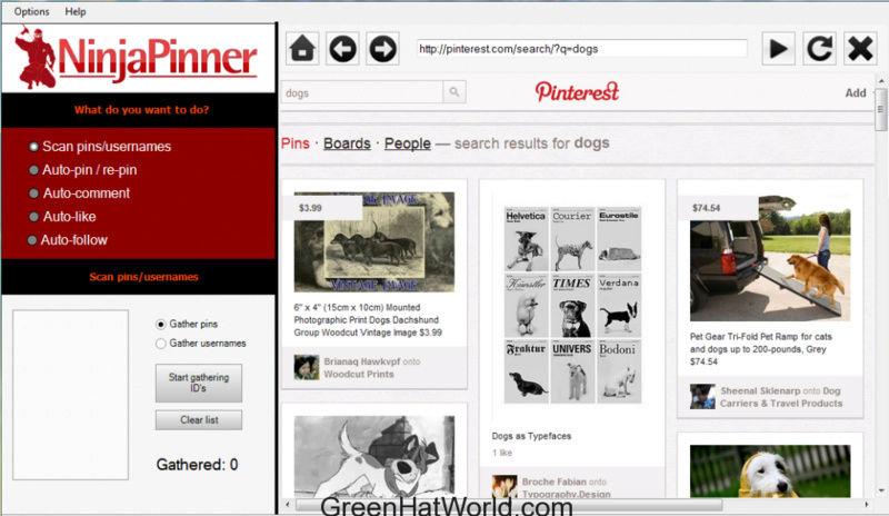 Download Ninja Pinner Cracked 100% Latest Version Downlo10