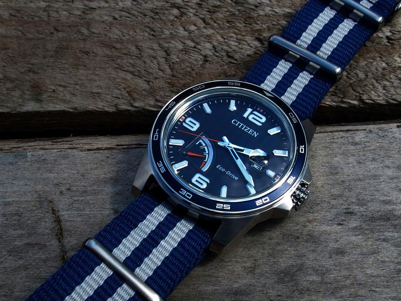 Citizen PRT AW7038-04L bleue - REVUE 17080324