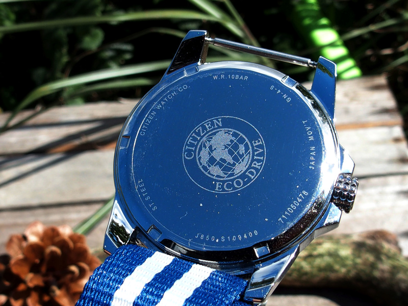 Citizen PRT AW7038-04L bleue - REVUE 17080325