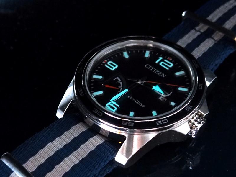 Citizen PRT AW7038-04L bleue - REVUE 17080326