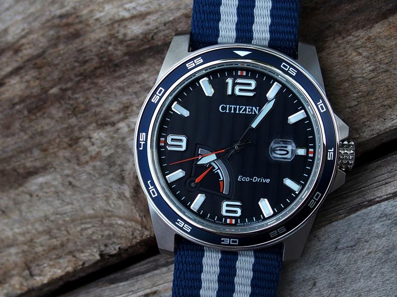 Citizen PRT AW7038-04L bleue - REVUE P8060011