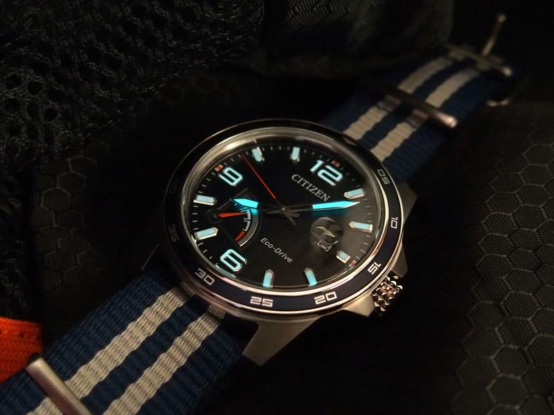 Citizen PRT AW7038-04L bleue - REVUE P8060012