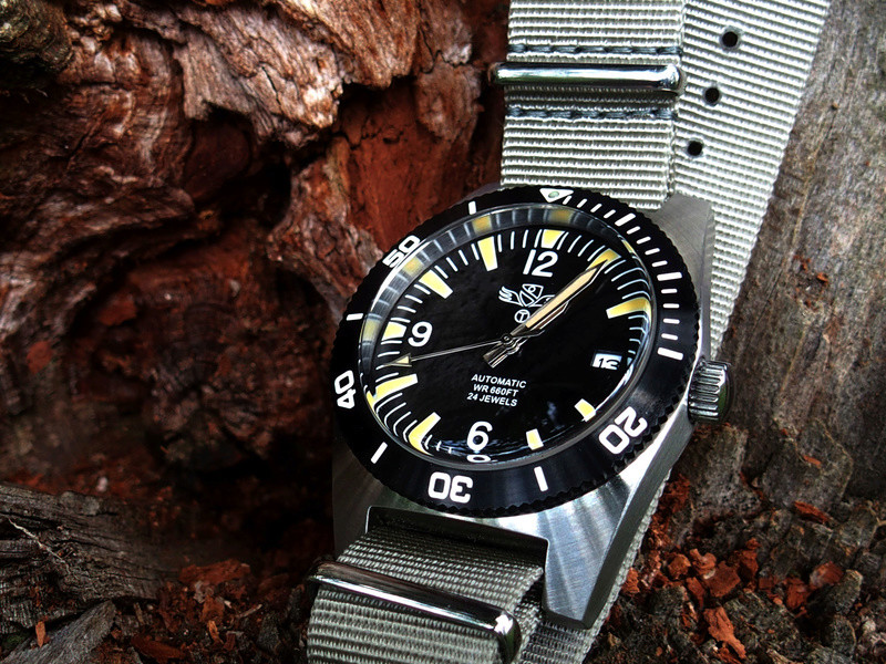 military - Military Industries 1970s diver's watch P8130012