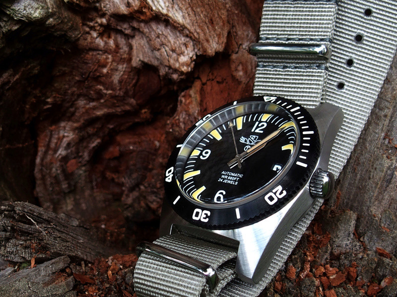 military - Military Industries 1970s diver's watch P8130017