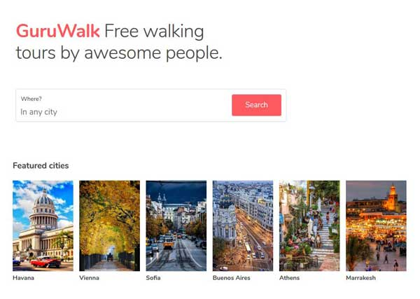 Free tours Guruwalk