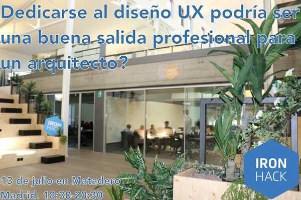 Evento gratis para arquitectosUX/UI