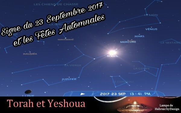 À  relire Signe du 23 Septembre 2017 et les Fêtes Automnales Picsar28