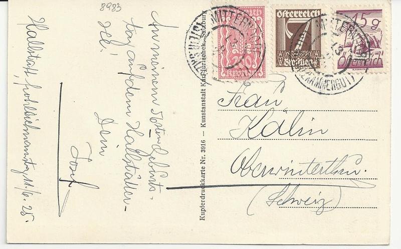 Inflation in Österreich - Belege - 1918 bis 1925 - Seite 9 Bild11