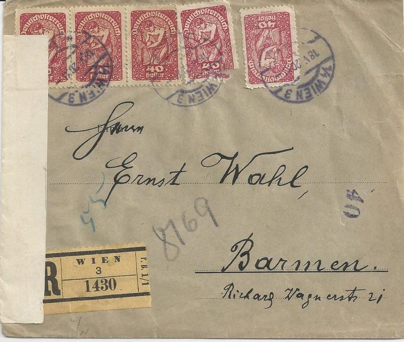 Inflation in Österreich - Belege - 1918 bis 1925 - Seite 9 Bild17