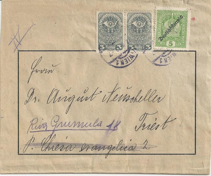 Inflation in Österreich - Belege - 1918 bis 1925 - Seite 9 Bild18