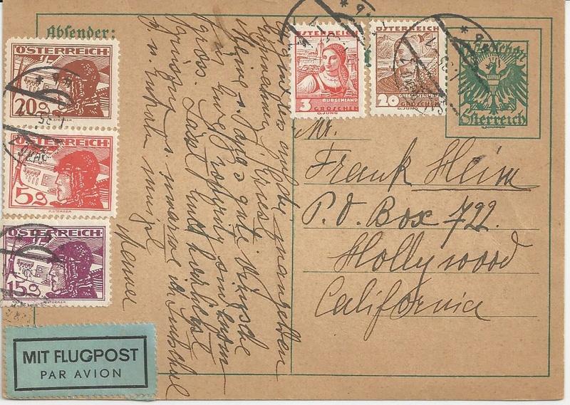 Österreich 1925 - 1938 - Seite 6 Bild23