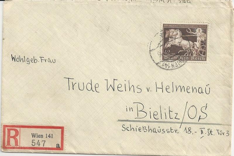 Österreich im III. Reich (Ostmark) Belege - Seite 10 Bild26