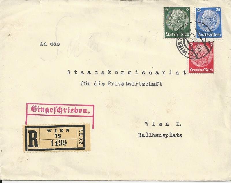 Österreich im III. Reich (Ostmark) Belege - Seite 10 Bild48