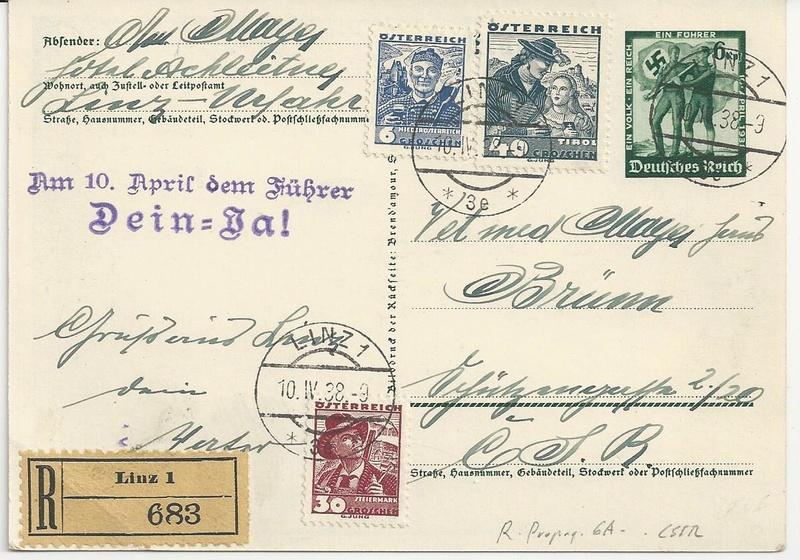 Österreich im III. Reich (Ostmark) Belege - Seite 10 Bild_221
