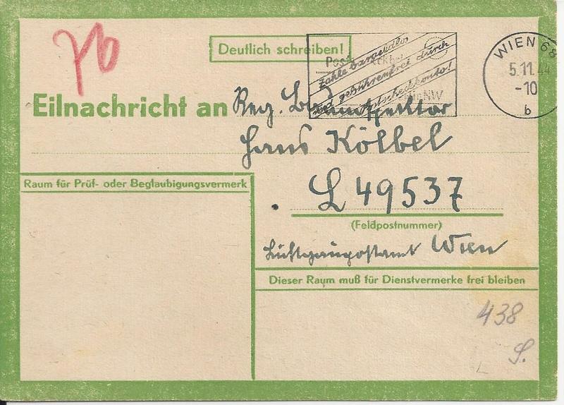 Österreich im III. Reich (Ostmark) Belege - Seite 10 Bild_229