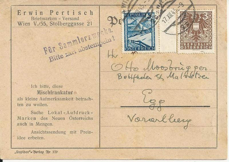 Sammlung Bedarfsbriefe Österreich ab 1945 - Seite 9 Bild_231