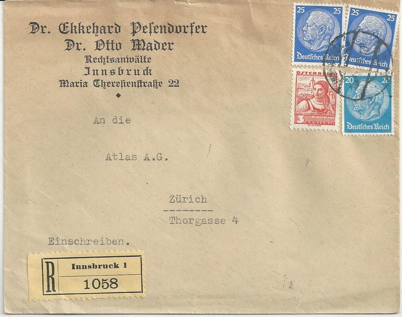 Österreich im III. Reich (Ostmark) Belege - Seite 10 Bild_310