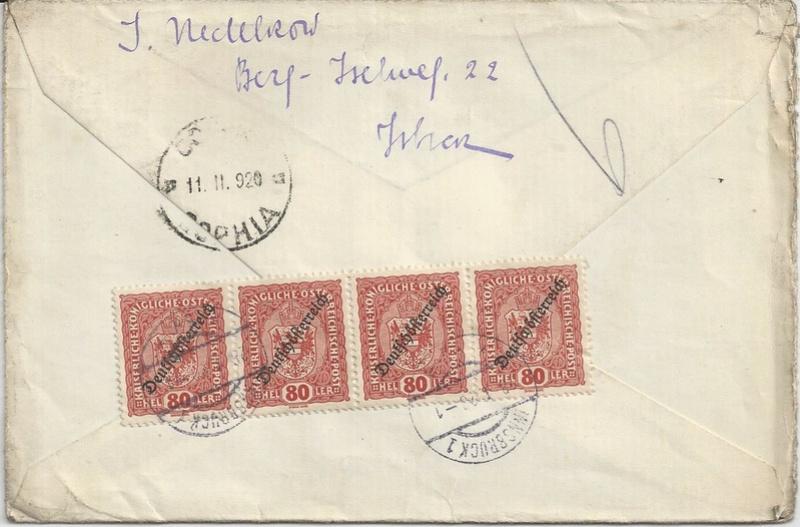 Inflation in Österreich - Belege - 1918 bis 1925 - Seite 9 Bild_314