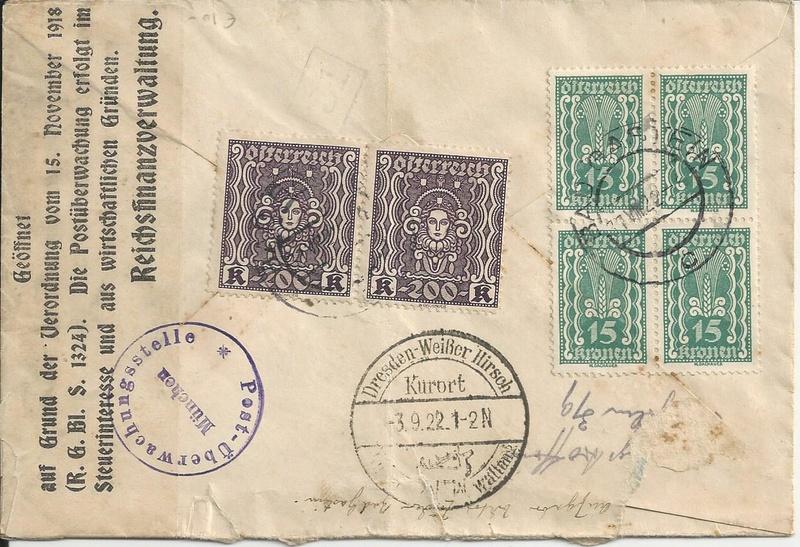 Inflation in Österreich - Belege - 1918 bis 1925 - Seite 9 Bild_414