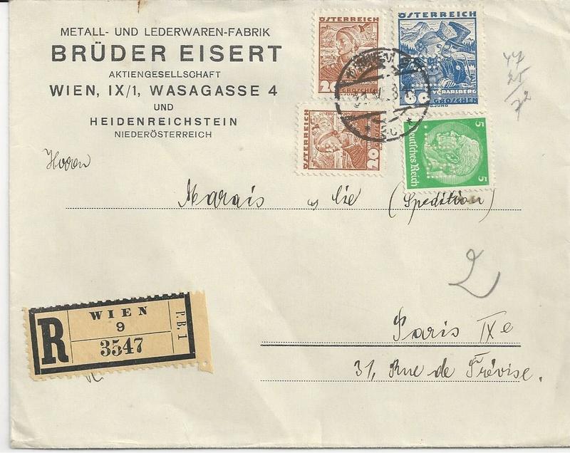 Österreich im III. Reich (Ostmark) Belege - Seite 10 Bild_419